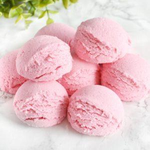 Rosa boblebadtrøffel med jordbærduft