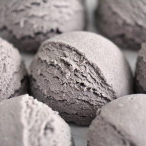 Brun boblebadtrøffel med sjokolade og espressoduft