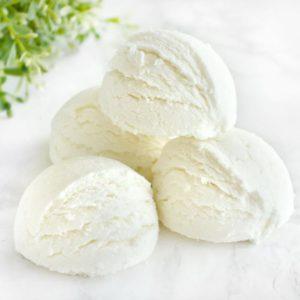 Hvit boblebadtrøffel med vaniljeduft