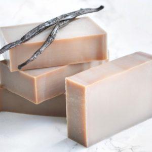 Brun kaldprosess såpe med vanilje duft