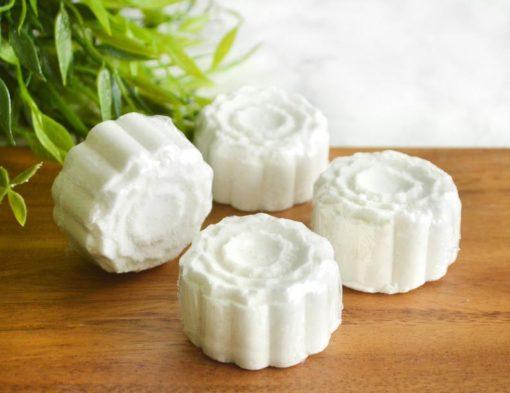 Lavender eterisk olje dusjdamper hjelper med dypere søvn, beroliger gjennom aromaterapi i dusjen