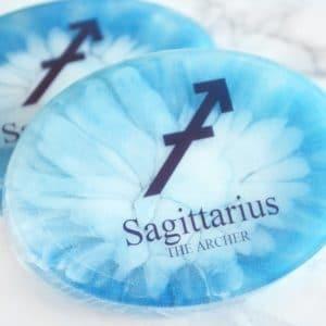 Blå stjernetegnsåpe for Skytten