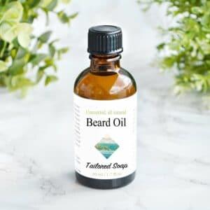 Naturlig skjeggolje uten duft