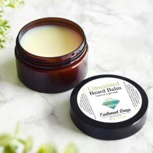 Naturlig skjeggpomade uten duft